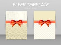 Het abstracte ontwerp van het vliegermalplaatje Royalty-vrije Stock Fotografie