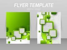 Het abstracte ontwerp van het vliegermalplaatje Royalty-vrije Stock Afbeeldingen