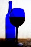 Het Abstracte Ontwerp van het wijnglaswerk Stock Afbeelding