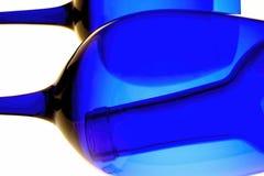 Het Abstracte Ontwerp van het wijnglaswerk Royalty-vrije Stock Foto