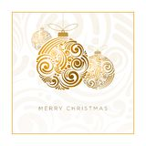 Het abstracte Ontwerp van Kerstmis Royalty-vrije Stock Foto