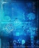 Het abstracte Ontwerp van Technologie Stock Afbeelding