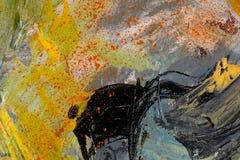 Het abstracte paing stock illustratie
