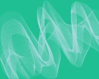 Het abstracte patroon van het achtergrondneon heldergroene net stock illustratie