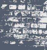 Het abstracte patroon van de grungemuur Stock Foto