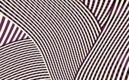 Het abstracte Patroon van de Krommestreep Stock Foto