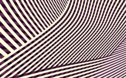 Het abstracte Patroon van de Krommestreep Stock Foto's