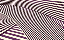 Het abstracte Patroon van de Krommestreep Stock Fotografie