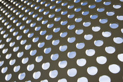 Het abstracte patroon van het metaal Royalty-vrije Stock Foto