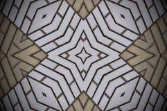 Het abstracte patroon van vormenbakstenen Stock Foto's