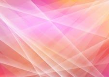 Het abstracte Purpere Behang van Veelhoekvormen Stock Afbeelding