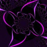Het abstracte Purpere Ontwerp van het Lint Royalty-vrije Stock Afbeeldingen