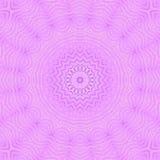 Het abstracte ronde violette purpere beige van het sterornament Royalty-vrije Stock Fotografie