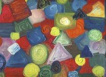 Het abstracte Schilderen Royalty-vrije Stock Afbeelding