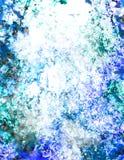 Het abstracte schilderen stock illustratie