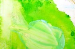 Het abstracte schilderen Stock Afbeeldingen