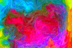 Het abstracte schilderen Royalty-vrije Stock Fotografie