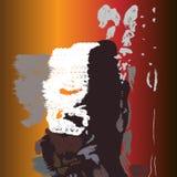 Het abstracte schilderen, Achtergronden, texturen Stock Afbeeldingen
