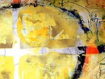 Het abstracte Schilderen Als achtergrond Royalty-vrije Stock Afbeeldingen