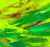 Het abstracte schilderen door olie op canvas, illustratie, backg Stock Foto's