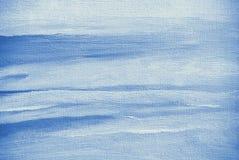 Het abstracte schilderen door olie op een canvas, achtergrond Stock Foto