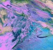 Het abstracte schilderen door oliecanvas, achtergrond Royalty-vrije Stock Afbeelding
