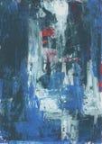 Het abstracte schilderen I Stock Foto's