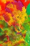 Het abstracte Schilderen met Samengeperste Lucht Stock Afbeelding