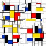 Het abstracte schilderen op witte achtergrond stock illustratie