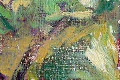 Het abstracte schilderen van olieverven Royalty-vrije Stock Fotografie