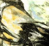 Het abstracte schilderen voor binnenland, illustratie royalty-vrije illustratie