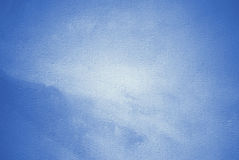 Het abstracte schilderen voor een binnenland in blauwe toon Royalty-vrije Stock Fotografie