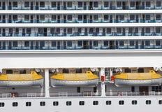 Het abstracte Schip van de Cruise Royalty-vrije Stock Foto's