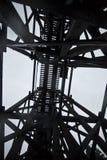 Het abstracte Spoor van de Trein - de hemel van de Wolk Stock Foto