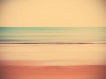 Het abstracte strand van de onduidelijk beeldzomer Stock Afbeelding