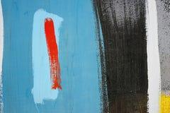Het abstracte trekken op de muur, straatart. stock foto's