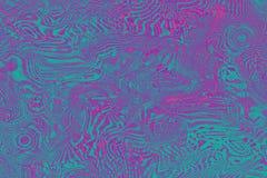 Het abstracte ultraviolet vertroebelde holografische achtergrond, helder decor In groen kleuren ultraviolet purper concept Royalty-vrije Stock Fotografie