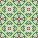 Het abstracte Vector Naadloze Patroon van de Pistachekleur voor Achtergrond stock illustratie