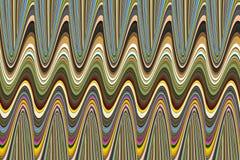 Het abstracte veelkleurige volumetrische buigen als achtergrond Royalty-vrije Stock Afbeeldingen