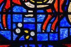 Het abstracte Venster van het Gebrandschilderd glas Royalty-vrije Stock Foto