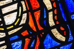 Het abstracte Venster van het Gebrandschilderd glas Royalty-vrije Stock Foto's