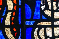 Het abstracte Venster van het Gebrandschilderd glas Royalty-vrije Stock Afbeelding