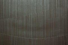 Het abstracte vinyl van de kromme donkere zilveren toon Royalty-vrije Stock Fotografie