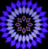 Het abstracte violette radiale patroon, drijft effect uit vector illustratie