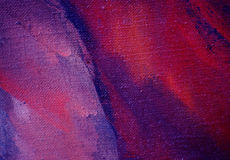 Het abstracte violette schilderen, illustratie, Stock Afbeeldingen