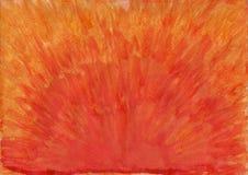 Het abstracte waterverf schilderen Royalty-vrije Stock Fotografie