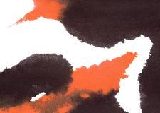 Het abstracte waterverf schilderen Royalty-vrije Stock Foto