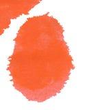 Het abstracte waterverf schilderen Royalty-vrije Stock Afbeeldingen