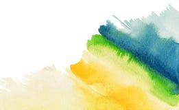 Het abstracte waterverf schilderen. Royalty-vrije Stock Foto's