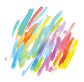 Het abstracte waterverf schilderen vector illustratie